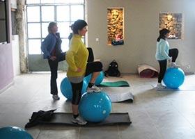 Sandrine personal trainer Carcassonne Pilates